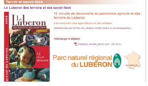 Oferta turística Luberon